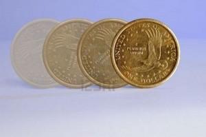 Moneda en movimiento